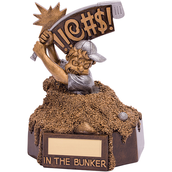 Bunker Blues Golf Award