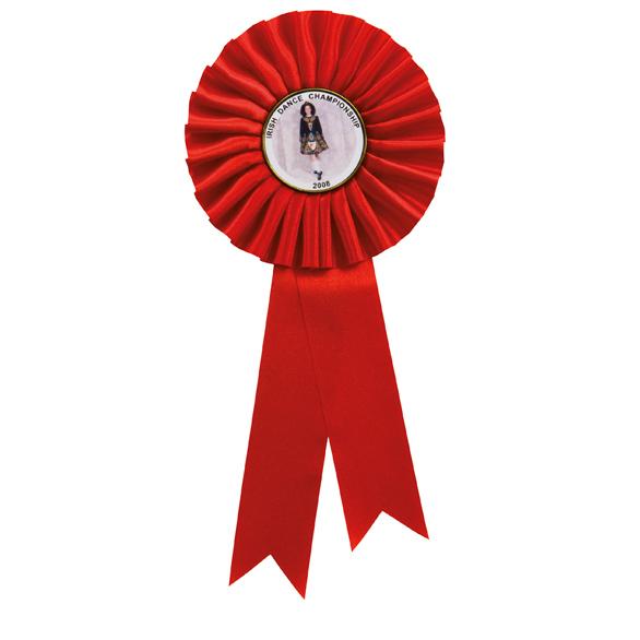 Champion Rosette Red