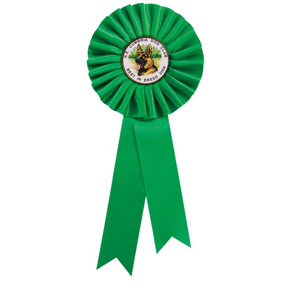 Champion Rosette Green