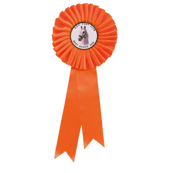 Champion Rosette Orange