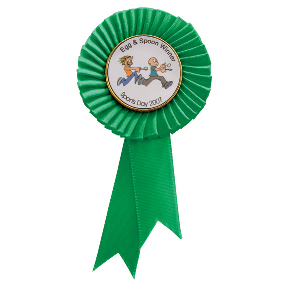 Tribute Mini Rosette Green