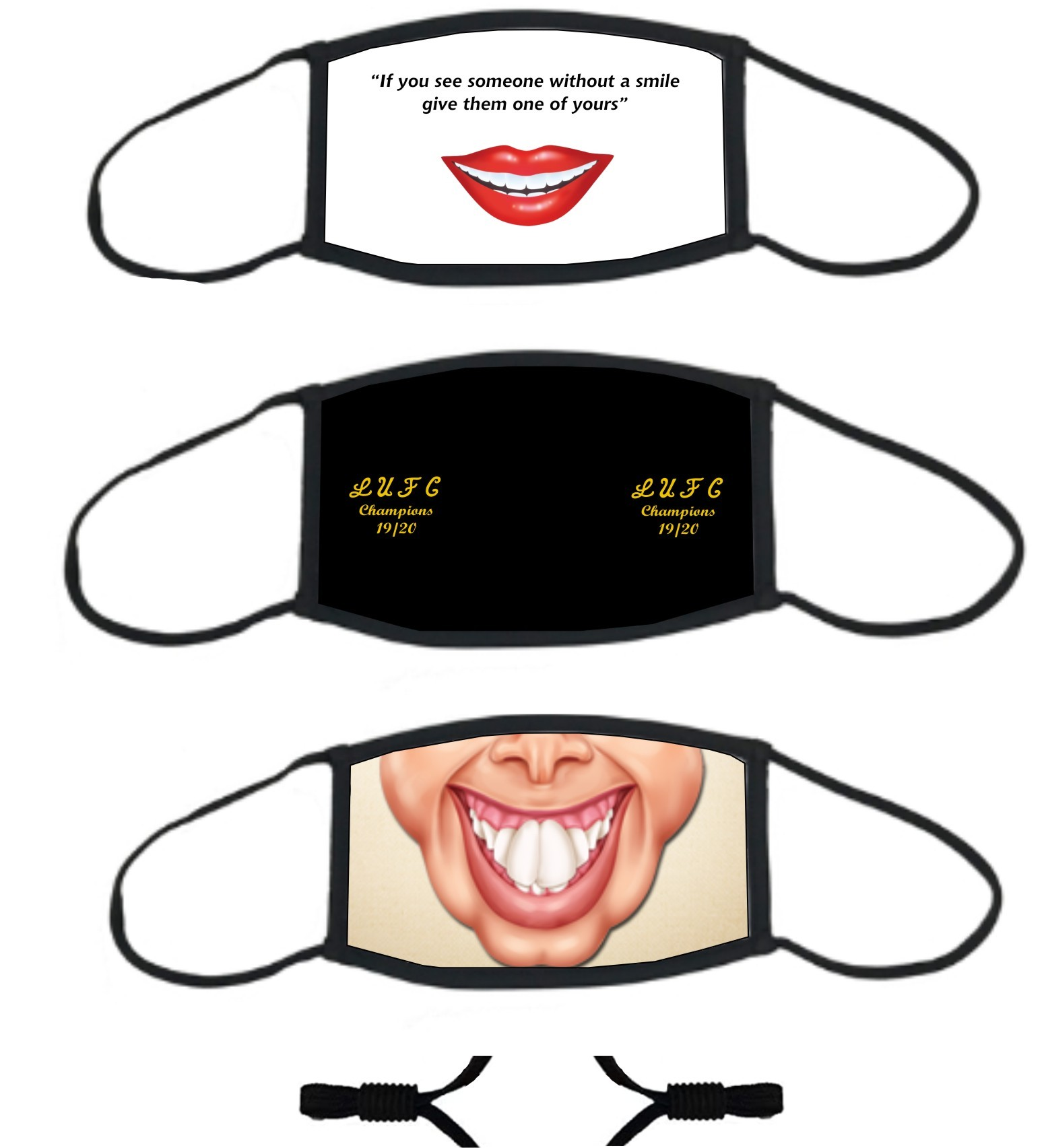 A Range of HUMOROUS & GENERIC Face Masks